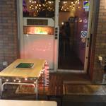 薬酒BAR Toyohashi - テラス席ではオセロが楽しめます。