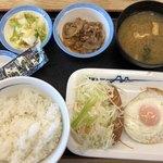 106057510 - 朝定食(ソーセージエッグ定食)