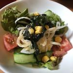 ビストロ カノン - 鈴カレー飯  Bセットのサラダ