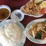 中国飯店紀淡 - 八宝菜定食♪
