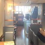 麻布珈琲 - 2階席