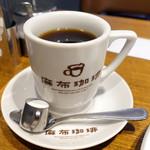 麻布珈琲 - アメリカン珈琲594円