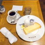 麻布珈琲 - アメリカン珈琲594円+無料モーニング