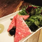 蔵真 - 料理写真:パテドカンパーニュ冷製お肉料理