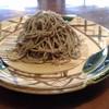 手打蕎麦切 玄寿 - 料理写真:黒い蕎麦 アップ