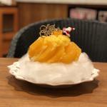 106075115 - 紅マドンナのかき氷(クリスマスver.)