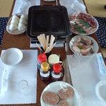 中山牧場レストハウス - 料理写真:バーベキューセット3人前