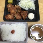 きしから - 韓国風辛辛唐揚げ弁当(レギュラーサイズ)