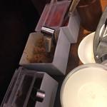 博多 一風堂 - 高菜、もやし、紅ショウガ