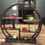 Chi-Fu - 木の芽時:鮪・搾菜・新玉葱・芽キャベツ