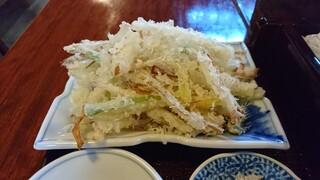 鯨荘 塩町館 - 葱の天ぷら