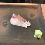 鮨 くま - 真鯛の湯引き!