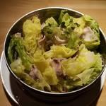 佐貫居酒屋バル 麺's BAR 叶多寿 - 豚きゃべミルフィーユ