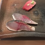 鮨 くま - 炙り〆鯖!
