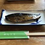 おんどりそば - にしん煮 ¥400
