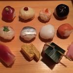 入母屋 - 手まり寿司
