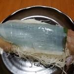 歳香亭 - 料理写真: 呼子のイカの活き造り(1杯) ¥2160