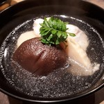 106094366 - タケノコ 椎茸 甘鯛のお椀