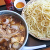 更科 - 料理写真:肉汁つけ麺(中華麺・中盛)