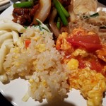 台北夜市 - トマトと卵炒め、お代わりしたかったのにな~。