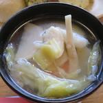 タンジョウ ファーム キッチン - 旬の春野菜スープ