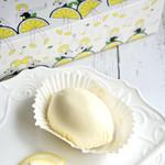 レモンショップ - レモンの形をしたレアチーズケーキ