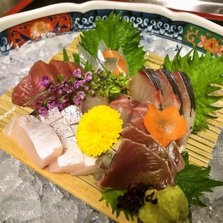 新鮮な旬の魚介を満喫