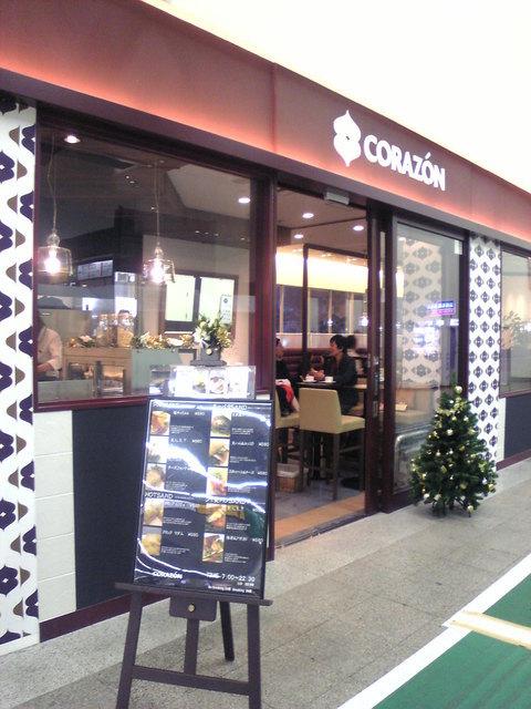 コラソンカフェ - 店舗 入口