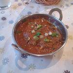 タンドール インドレストラン  - Bセット(ラムカレー)