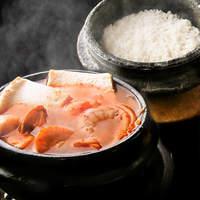 チャメ - 美味しいスンドゥプは全て石釜ご飯付き