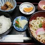 越前 - 料理写真:うどん定食