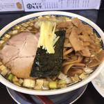 中華そば 亀喜屋 - メンマ増しのワンタン麺