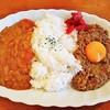 カレー&バー ジャム - 料理写真:えびココナッツ&牛豚カレー