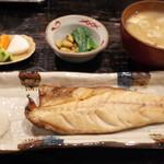 定食あさひ - 岩手焼魚定食 さば(850円)