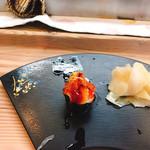 寿司弘 - うにだったかな   これが一番好き