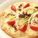 ハーモニー ダイナー - 京都ちりめん山椒と江戸ねぎのピザ