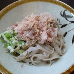 三井屋 - おろしそば(太麺)
