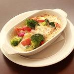 ハーモニー ダイナー - ゴロゴロ野菜のグラタン