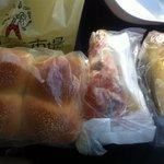 マカロニ市場 - ベビーパン、フォカッチャ、たっぷりたまご