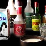 チャメ - マッコリカクテルなど、韓国酒も多数!!コースでは\1,500で飲み放題に!!