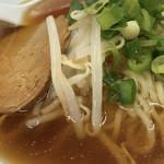 十八番 - 自家製麺使用のラーメン