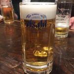 居酒家 ふうてん - 生ビール