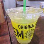 レモネード by レモニカ - オリジナルのレモネードにフレッシュレモンをプラス