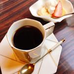 きゃらばん - コーヒーと果物 期間限定 菜の花のスパゲティランチ 1,000円