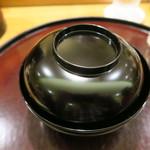 日本料理 太月 - 塗り椀