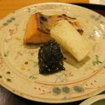 日本料理 太月 - 大船渡サクラマス炭火焼