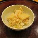 日本料理 太月 - 静岡筍、蕗御飯