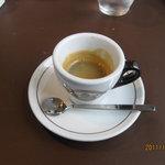 オッティモ・シーフード・ガーデン - このエスプレッソは美味い。