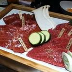 10612817 - お肉の盛り合わせ