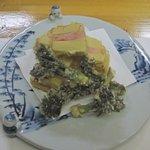 馳走 ほりもと - タケノコとタラの芽の天ぷら